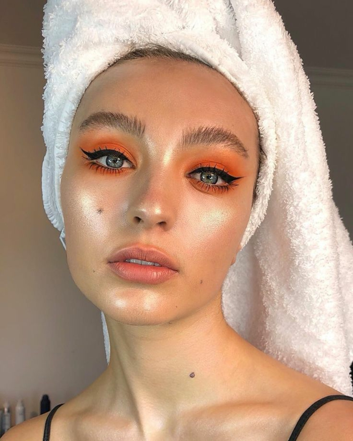 idée maquillage tendance yoga skin