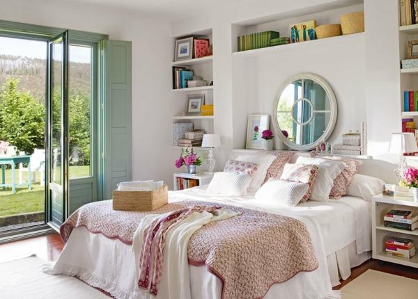 idée miroir déco tête de lit