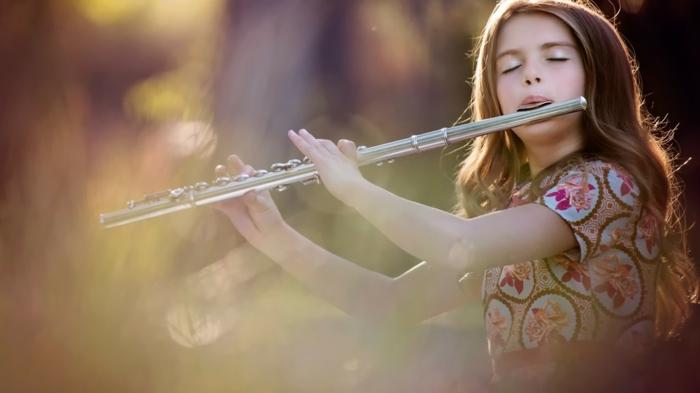 instrument à vent flûte traversière