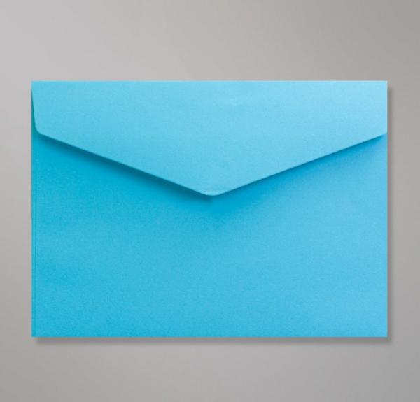 invitations de mariage Enveloppe Bleue Patte Triangulaire Avec Bande Adhésive