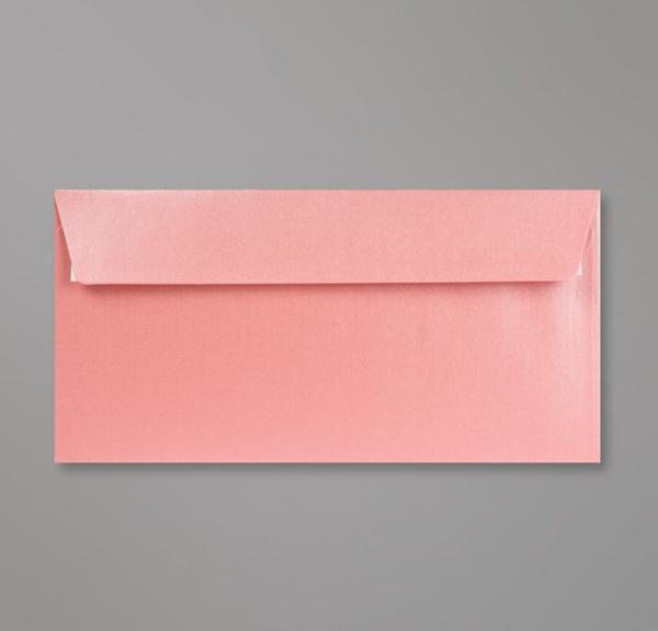 invitations de mariage Enveloppe Perlée Rose Bébé