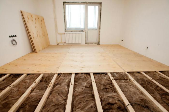 isolation du sol pour bien isoler sa maison