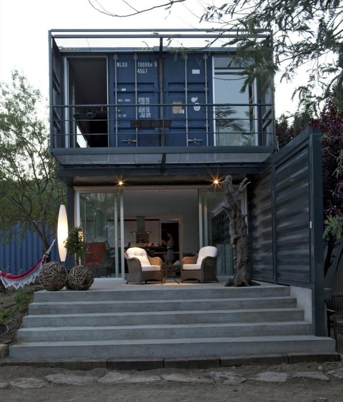 maison unique container habitable
