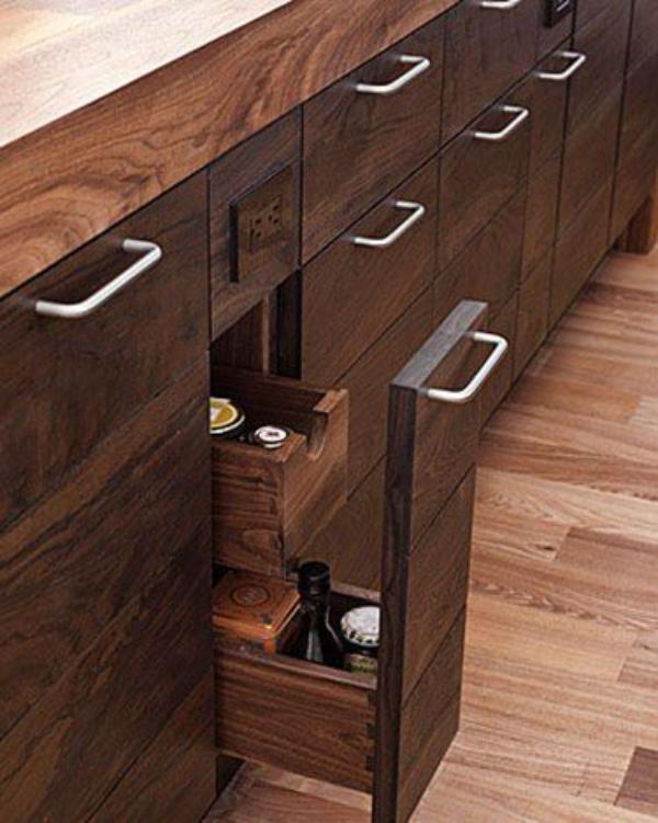 meuble cuisine design économiser de l'espace