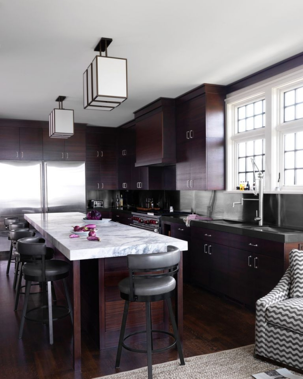 meuble cuisine design meubles en acajou