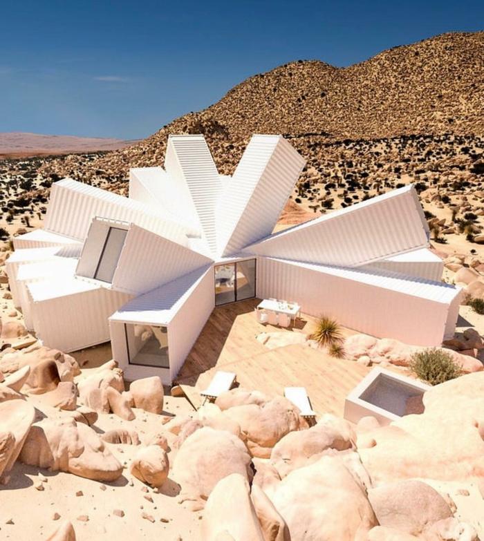 miason d'architecte moderne container habitable
