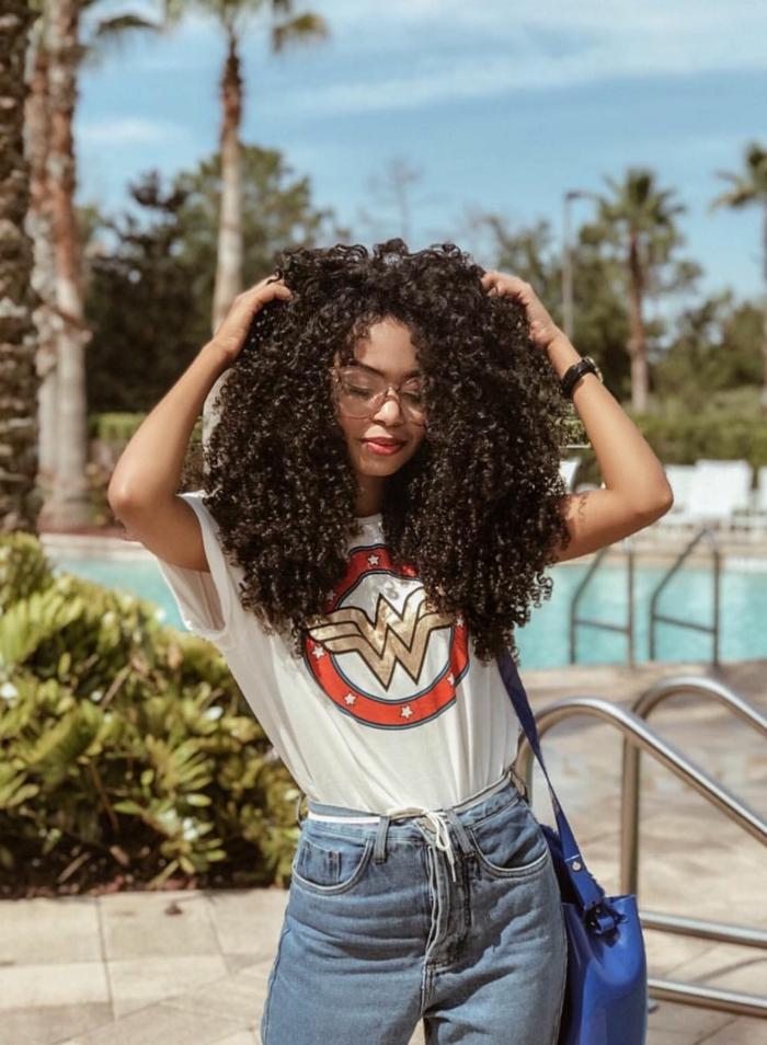 mode femme routine capillaire cheveux crépus