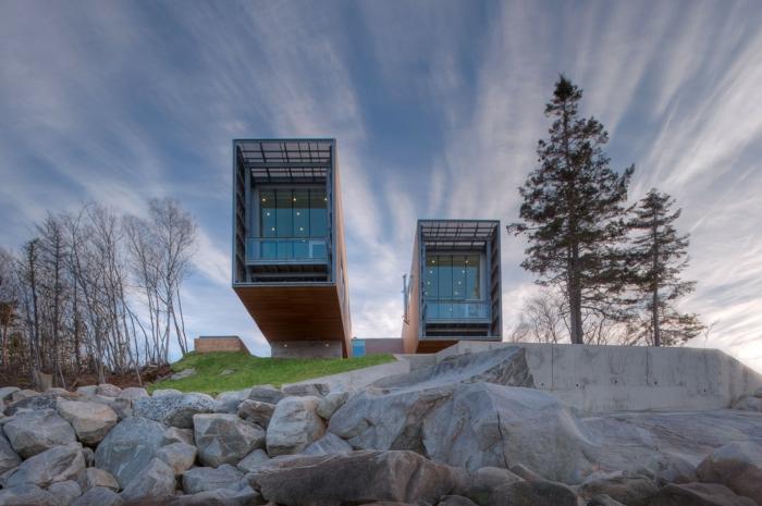 moderne et originale maison idée container habitable