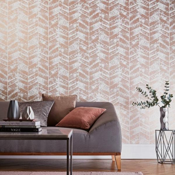 papier peint tendance 2019 modèle métallisé
