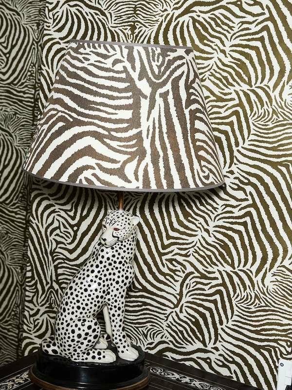 papier peint tendance 2019 motifs animaux imprimés léoparde