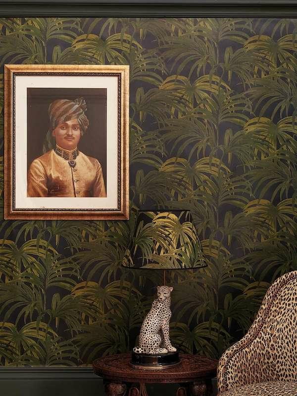papier peint tendance 2019 motifs jungle