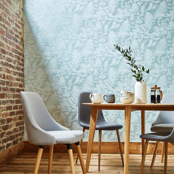 papier peint tendance 2019 motifs végétaux