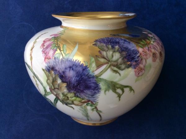peinture sur porcelaine pour décoration