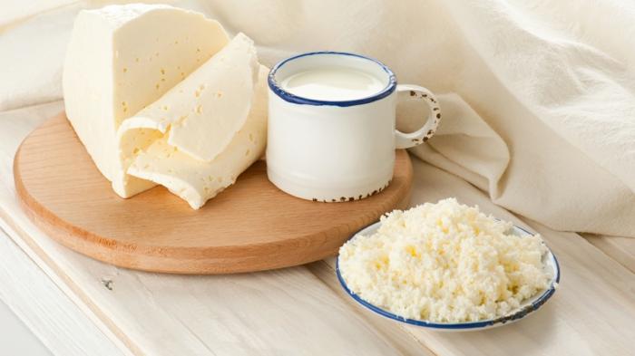 produits de lait de vache régime fodmap