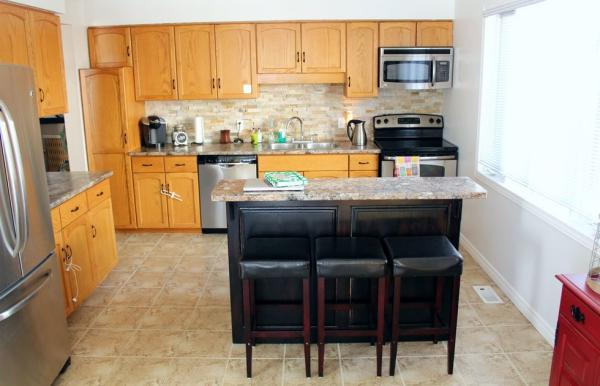 relooker meuble cuisine avant c'était le bois