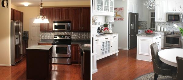 relooker meuble cuisine grand changement