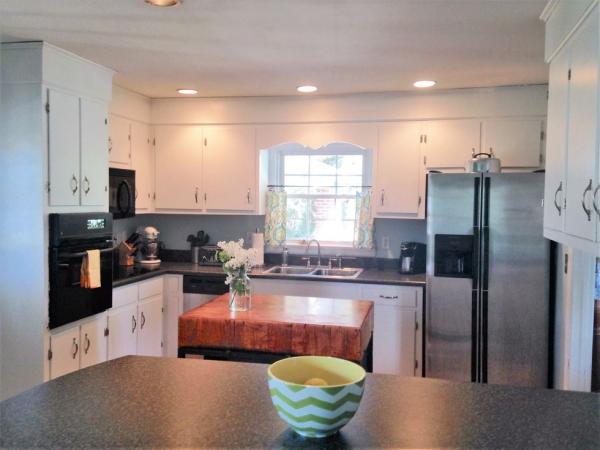 relooker meuble cuisine rendre plus claire