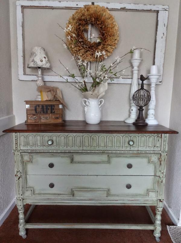 relooker un meuble ancien du style shabby chic