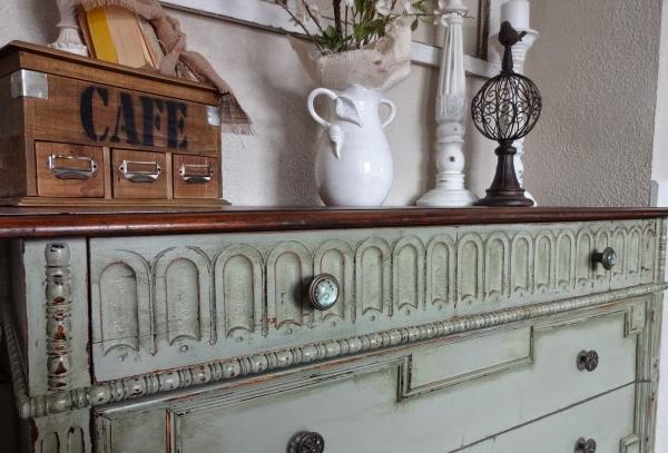 relooker un meuble ancien grande commode