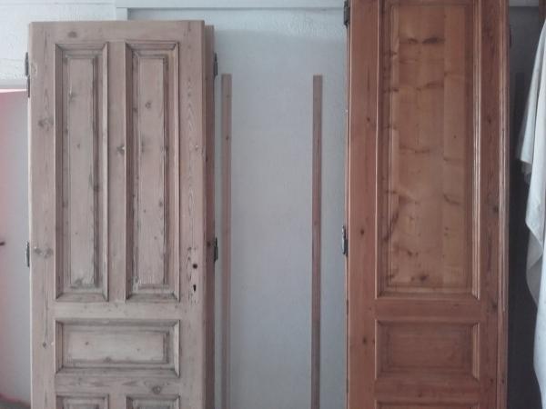 relooker un meuble ancien porte massive