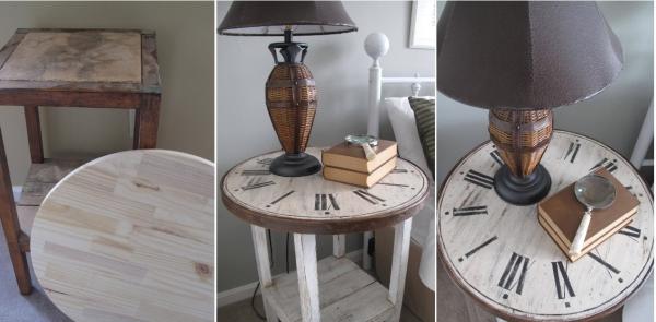 relooker un meuble ancien table carrée