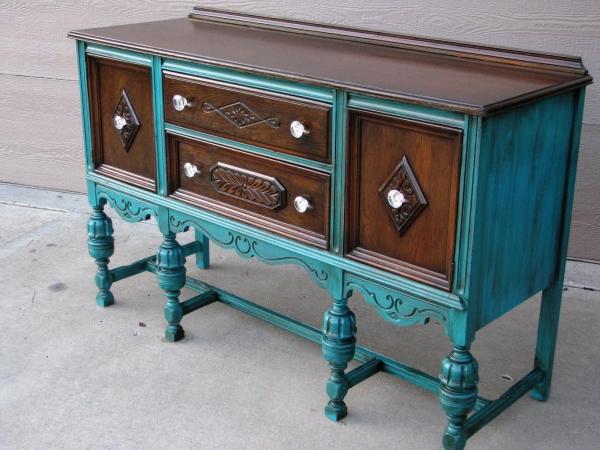 relooker un meuble ancien très sophistiqué