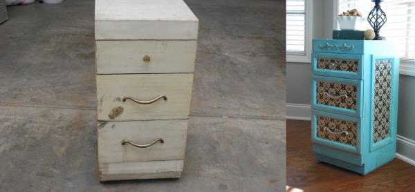 relooker un meuble ancien vieille commode