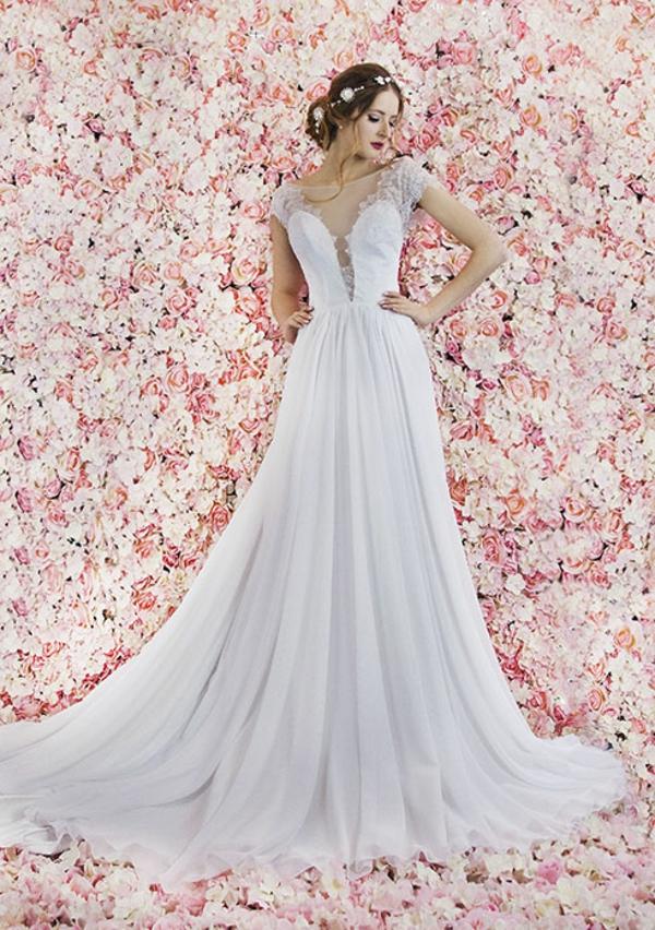 robe de mariée 2019 décolleté plongeant zoryana stekhnovych