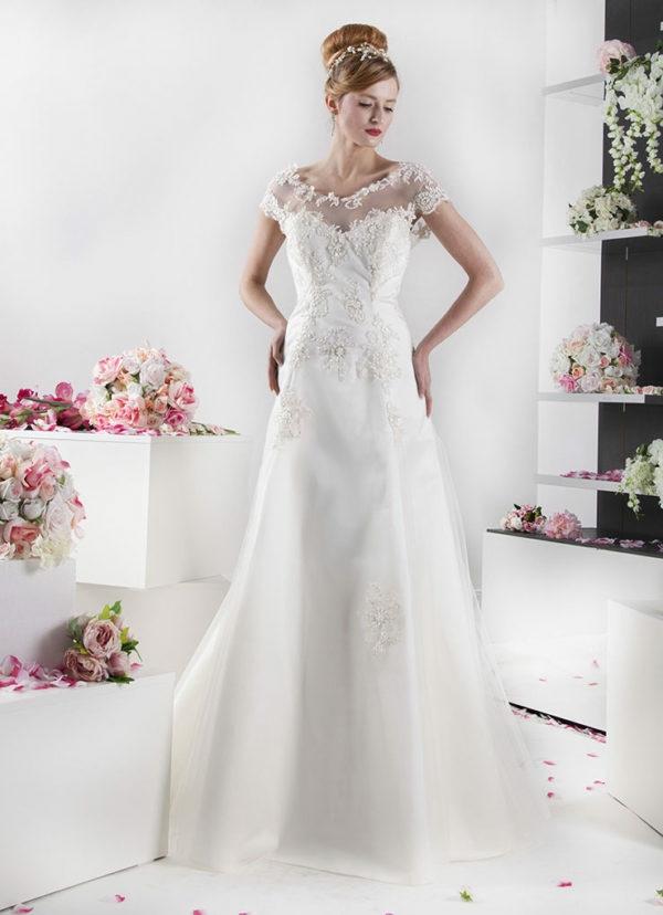 robe de mariée 2019 dentelle perles zoryana stekhnovych