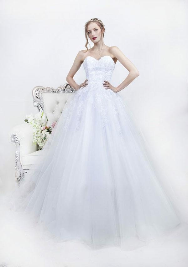 robe de mariée 2019 princesse tulle zoryana stekhnovych