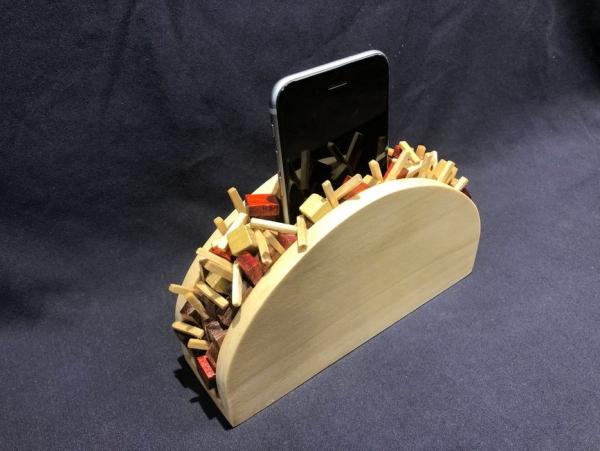 support téléphone portable maison juste un taco