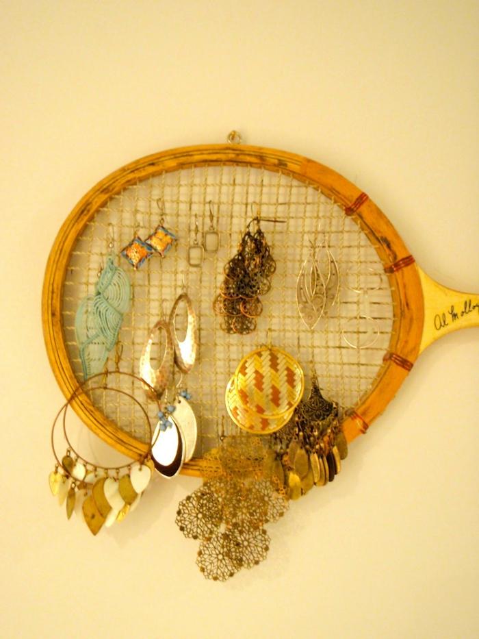 DIY pour vos bijoux idée raquette de tennis