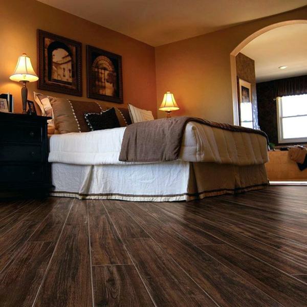 Revêtement sol lino chambre