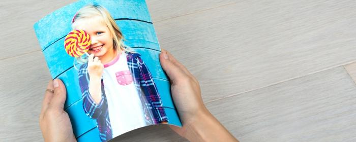 carnet photo idée cadeau pour la journée de la femme avec photos