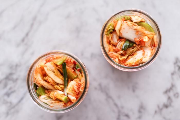 chou chinois fermenté recette kimchi
