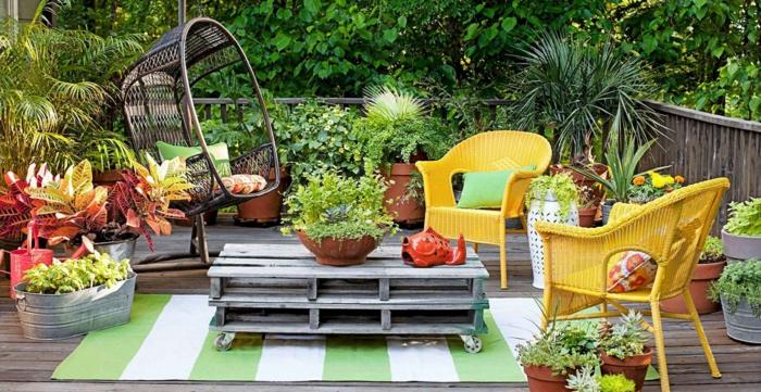 coin détente jardin design