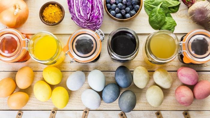 colorant naturel oeuf de pâques