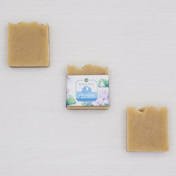 contre acné savon au lait de chèvre naturel