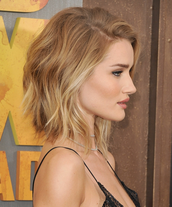 coupe cheveux femme carré wavy carré ondulé blond