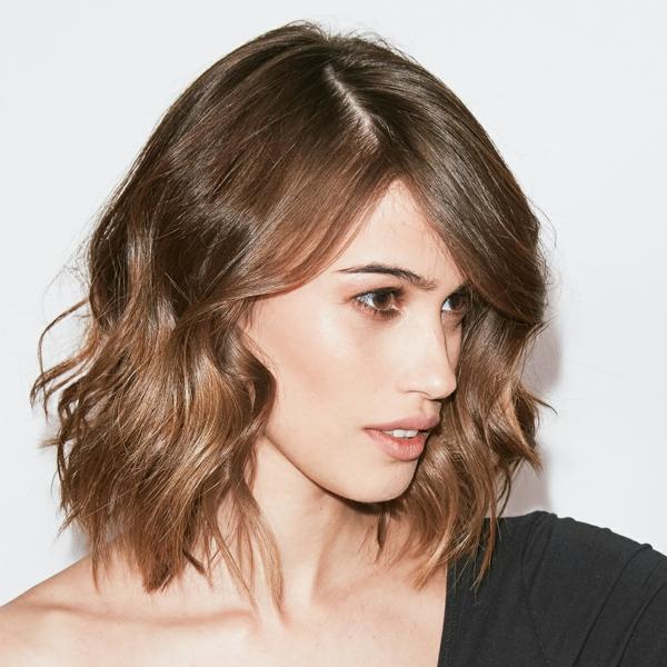 coupe cheveux femme carré wavy carré ondulé flou