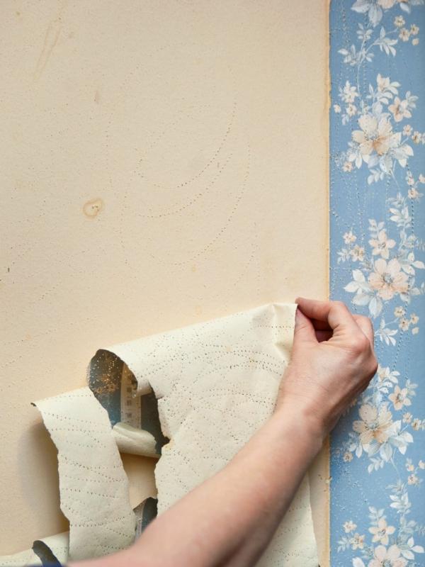 déterminer le type de tapisserie décoller du papier peint