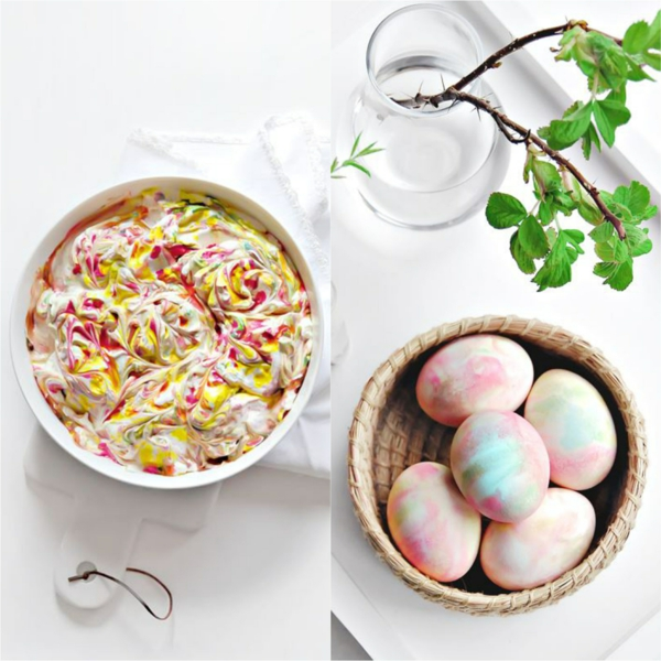 façons créatives de décorer un œuf de Pâques mousse à raser