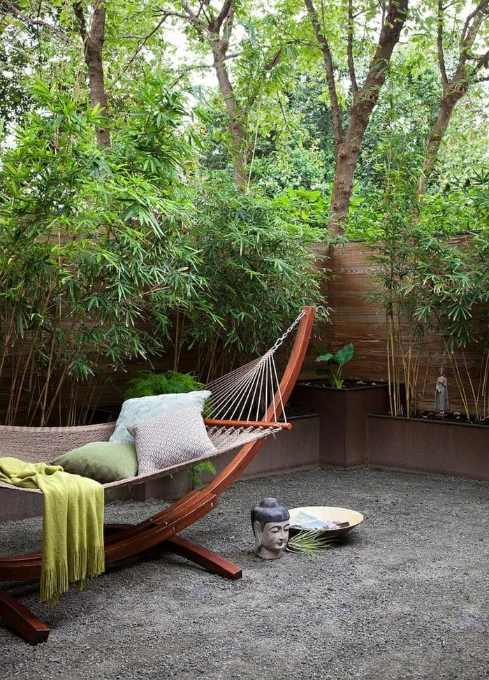 hamac coin détente jardin