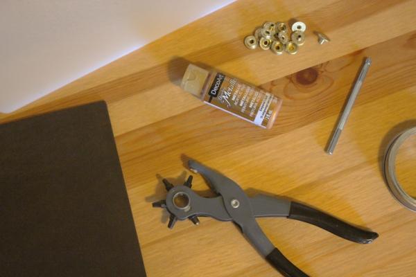 housse étui pour écouteurs téléphone DIY les outils
