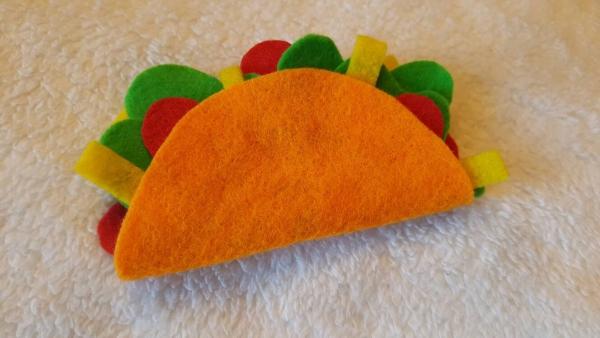 housse étui pour écouteurs téléphone DIY taco en feutre