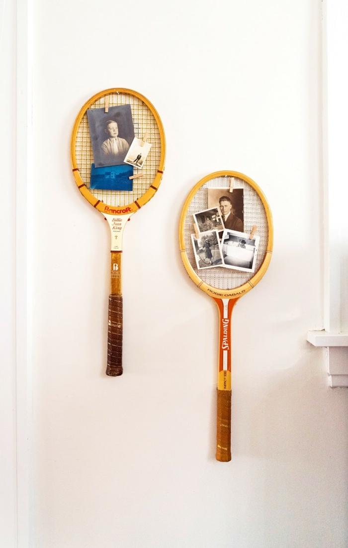 idée comment recycler la raquette de tennis