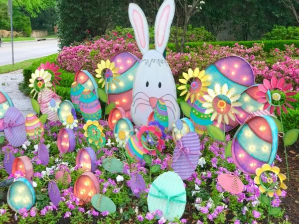 idée décoration de pâques à faire soi-même carton épais
