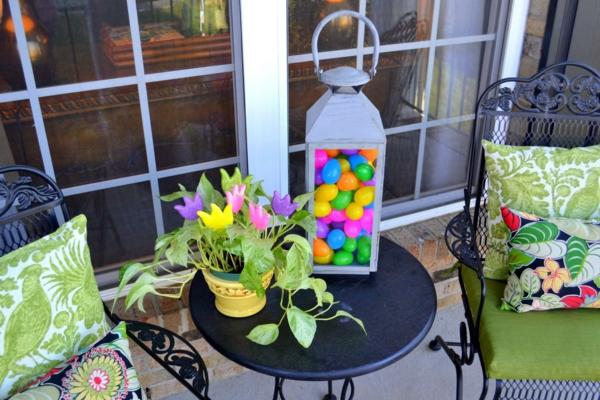 idée décoration de pâques à faire soi-même déco balcon