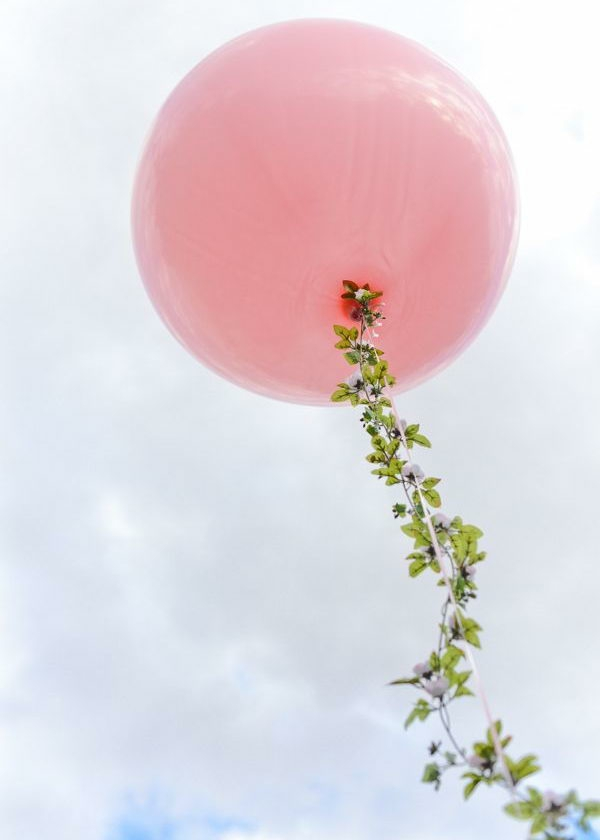 idée décoration de pâques à faire soi-même guirlande ballon
