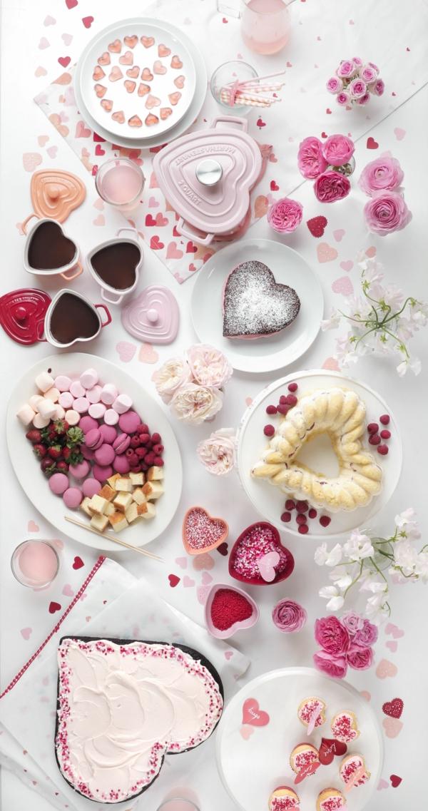 idée de déco saint-valentin à faire soi-même gâteaux décorés